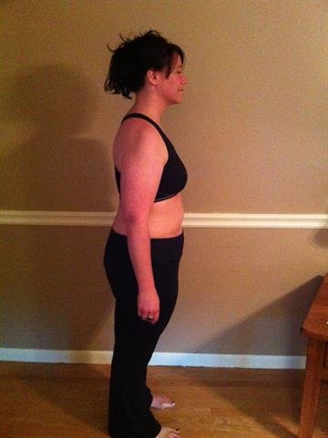 [2/5] She lost the first 20 pounds easily, by eating smaller portions and exercising at home. By Courtesy Kari Ianuale