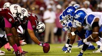 Kentucky nearly pulled off a road upset of South Carolina in early October.