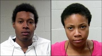 Marcus Pratt-Pegues, 24, and Eunique Cooper, 21, face charges for allegedly kidnapping a disabled man from his hotel room in Bridgeton. By Brendan Marks