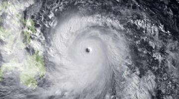 Typhoon slams the Philippines.  It's one of the strongest such storms ever recorded, with the U.S. Navy measuring wind gusts up to 235 mph. By Carlos Otero