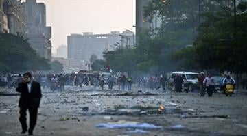 Egypt braces for fresh unrest.  Cairo announces the end of a 3-month-old state of emergency and curfew, raising fears of new protests by supporters of ousted President Morsi. By KHALED DESOUKI
