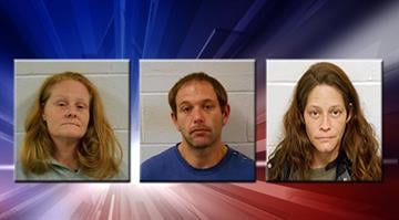 Three Centralia residents have been charged following the joint efforts of several police departments into a rash of storage unit burglaries across Clinton County. By Carlos Otero
