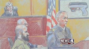 With his life hanging in the balance, the Army psychiatrist makes little effort to defend himself as his trial in the deadly Fort Hood rampage begins. By KMOV Web Producer