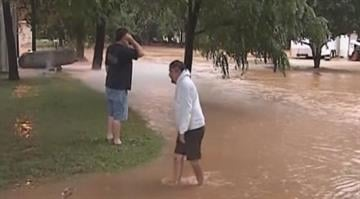 A young child drowned, several people were rescued and dozens of others were forced out of their homes after flash flooding in south-central Missouri early Tuesday. By Belo Content KMOV