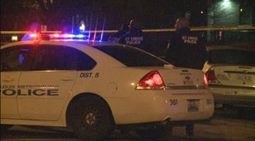 St. Louis reaches 15 homicides in 2015. Police investigate the scene in North City. By KMOV