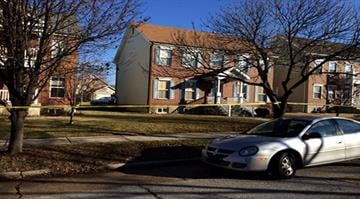 Police said the shooting happened in the 3900 block of Lafayette Avenue around 8:45 Tuesday morning. By Stephanie Baumer
