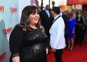 "HOLLYWOOD, CA - JUNE 30:  Filmmaker Melissa McCarthy attends the ""Tammy"" Los Angeles premiere at TCL Chinese Theatre on June 30, 2014 in Hollywood, California.  (Photo by Christopher Polk/Getty Images) By Christopher Polk"