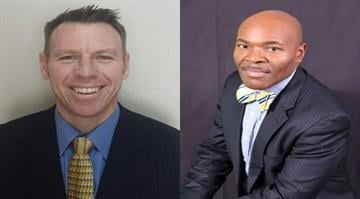 Bryan Davis (left) and Joseph Davis (right) are finalists for the Ferguson-Florissant superintendent position. By Stephanie Baumer