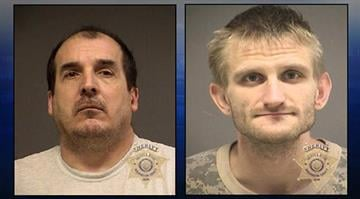 Booking photos of Ronald Kopf Jr. and Christopher Kopf By Stephanie Baumer