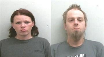 Lori J. Vannoy (left) and Michael J. French were arrested for allegedly stealing purses from women shopping at the Belleville Walmart on multiple occasions. Both are being held at the St. Clair County Jail on $30,000 bond. By KMOV Web Producer