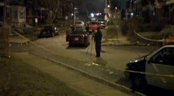 Police are searching for a suspect after a 20-year-old man was shot to death while sitting inside a vehicle in the Kingsway East Neighborhood in north St. Louis late Monday night. By Brendan Marks