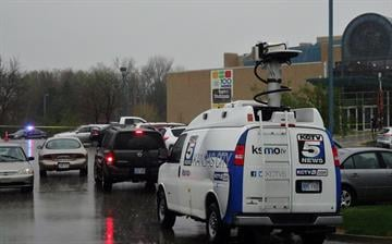 Two males were killed outside the Jewish Community Center of Greater Kansas City. A female was killed a few minutes later in the parking lot at Village Shalom, an assisted living facility. By Brendan Marks