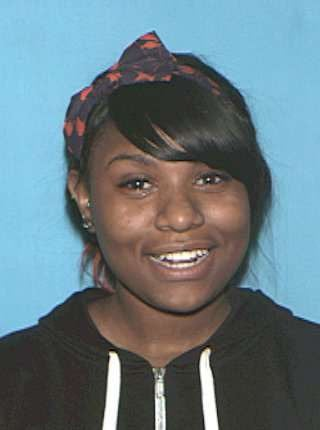 The missing child's aunt, Na'Diya Marie Curtis