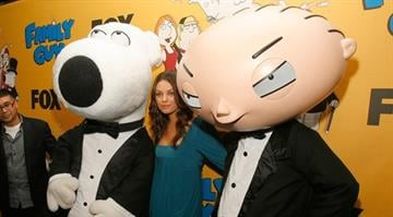 LOS ANGELES, CA - OCTOBER 29: Actress Mila Kunis attends the Family Guy's 100th Episode party held at Social on October 29,2007 in Los Angeles California. (Photo by Mark Davis/Getty Images) By Dan Mueller