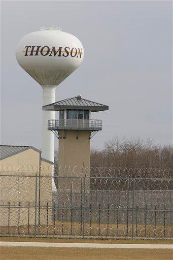 The Thomson Correctional Center, is seen Monday, Nov. 16, 2009, in Thomson, Ill. Federal officials are at a prison in northwest Illinois that the government might buy to house Guantanamo Bay detainees. (AP Photo/M. Spencer Green) By M. Spencer Green