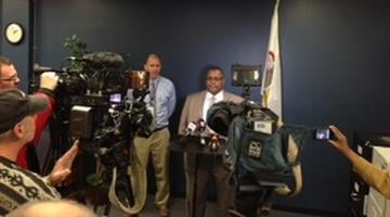 Police held a news conference Thursday afternoon regarding the death of a 1-year-old girl in East St. Louis. By Belo Content KMOV