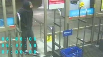 Surveillance image from a Walgreens store in the 3800 block of S. Kingshighway. By Dan Mueller