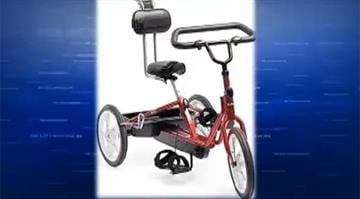 A specialized tricycle used by a Vancouver boy suffering from spina bifida was taken from his family's front porch. By Stephanie Baumer