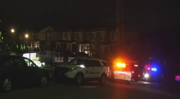 Authorities shot and killed a man who showed up to woman's house with a gun and rammed two county cruisers before pointing a gun at officers in Jennings, Missouri Wednesday night. By Stephanie Baumer