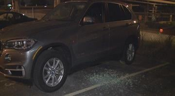 The cars were parked in a lot at 4th and Cerre when they were broken into sometime during the game. By Stephanie Baumer