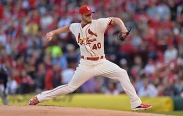 ST. LOUIS, MO - SEPTEMBER 13: Starting pitcher Shelby Miller #40 pitches against the Colorado Rockies in the first inning at Busch Stadium on September 13, 2014 in St. Louis, Missouri.  (Photo by Michael B. Thomas/Getty Images) By Michael B. Thomas