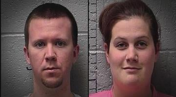 Adam Oder, 25, and Leah Oder, 28 facing felony charges for brutally abusing 6-8 month old infant By Ruella Rouf