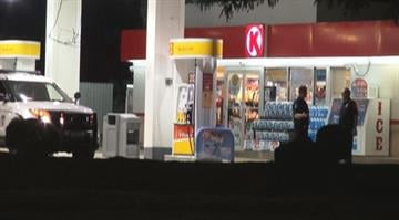 Police say the suspect entered the Circle K in the 11100 block of Olive Blvd. and forcibly stole an unknown amount of cash from the business. By Stephanie Baumer
