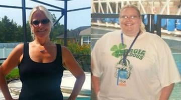 "In October 2011, Jen Corn began a life-altering ""road trip,"" facing the reality she had denied for years -- her obesity. This image shows Corn before and after her weight loss. By Stephanie Baumer"