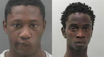 Chester Woods and Davionte Williams were sentenced to 13 years in prison for fatally shooting an Imo's pizza deliver driver in 2012. By Stephanie Baumer