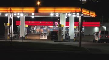 Police say a man between the ages of 25 and 30, wearing a black bucket hat, and blue hooded sweatshirt robbed a Circle K in the 1100 block of Bellefountaine Road at 12:36 a.m. By Stephanie Baumer