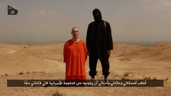 A video released by ISIS on August 19, 2014, shows the beheading of American journalist James Foley, who disappeared in November, 2012 in Syria. By ISIS