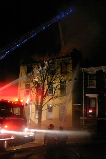 Structure fire State St. Alton, IL. By Drew Mitchell