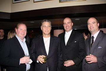 Kevin Maguire, Jeff Ruby, with Jeff Ruby's Steakhouse, Jason Johnson, General Manager of Jeff Ruby's Steakhouse, Jonathan Healy
