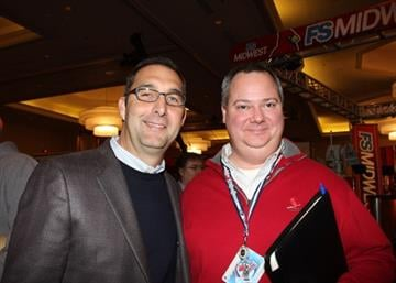John Mozeliak, cardinals general manager, Ron Waterman By Afton Spriggs