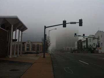 Fog in Clayton