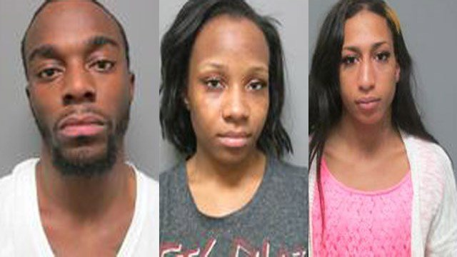 Jerome J. Abbott, 23, Jerrica A. Abbott, 21, and Jimmy L. Bootchee, 20, were arrested after police say they stole clothes and merchandise from a Kohl's in Fairview Heights, Illinois.