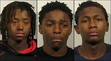 Markeith Reynolds Jr., 15, Shawn Russell, 15, and Brian Taylor 16, have each been charged with two counts of first-degree murder after they allegedly shot 54-year-old Charles Weiss to death in Granite City. By Belo Content KMOV