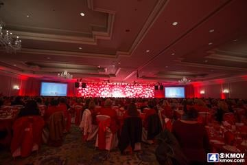 The American Heart Association hosted its annual 2015 St. Louis Go Red for Women Luncheon at the Ritz-Carlton Hotel in St. Louis.  KMOV's Jasmine Huda was a spokesperson during the luncheon. By Zach Dalin
