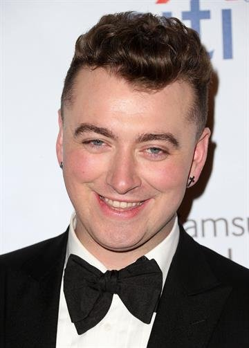 LOS ANGELES, CA - FEBRUARY 08: Singer Sam Smith attends the Universal Music Group 2015 Post GRAMMY Party at The Theatre Ace Hotel Downtown LA on February 8, 2015 in Los Angeles, California.  (Photo by Frederick M. Brown/Getty Images) By Frederick M. Brown