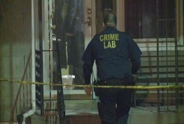 Detectives investigate a double homicide in the city's south side. By KMOV