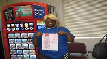 Lottery officials on Friday identified Synetta Wright as the player who matched all five white-balls in the Feb. 7 Powerball drawing, winning $1 million. By Stephanie Baumer