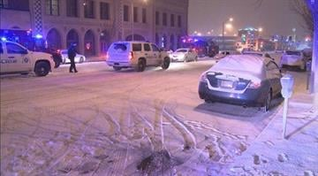 St. Louis Police investigate a shooting near the SLU campus in Midtown. By KMOV