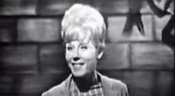"Lesley Gore in a video on YouTube for her hit song ""It's My Party"" By Stephanie Baumer"