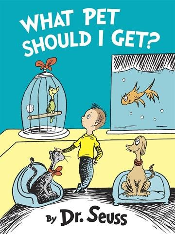 New Dr. Seuss book, What Pet Should I Get?,  to be published By Random House