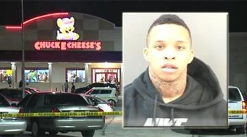 Arieon Ford is charged in connection with a shooting at the Chuck E. Cheese's in St. Charles By Daniel Fredman