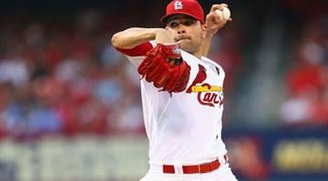 ST. LOUIS, MO - JUNE 3:  Starter Jaime Garcia #54 of the St. Louis Cardinals pitches against the Kansas City Royals in the third inning at Busch Stadium on June 3, 2014 in St. Louis, Missouri.  (Photo by Dilip Vishwanat/Getty Images) By Adam McDonald