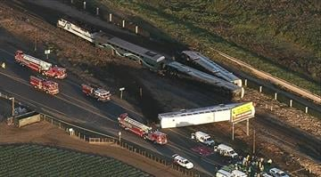 At least 30 people were injured and one person may have died after a Metrolink train struck a vehicle in Ventura County early Tuesday morning. By Stephanie Baumer