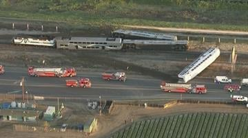 At least 30 people were injured and one person may have died after a Metrolink train struck a vehicle in Ventura County early Tuesday morning. By KTLA