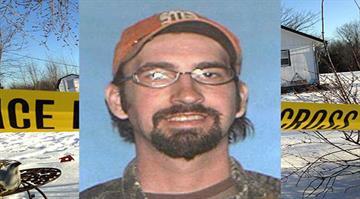 Joseph Aldridge, 36, of Tyrone who allegedly went on a killing spree killing nine people By Adam McDonald