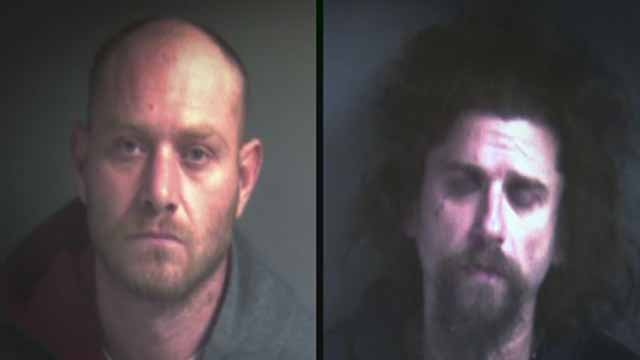 Brian Jones and Jerry Courtway have been arrested for allegedly stealing a tow truck outside a Franklin County business. Police believe they are part of a larger car theft ring.